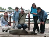 News une famille aux Galapagos