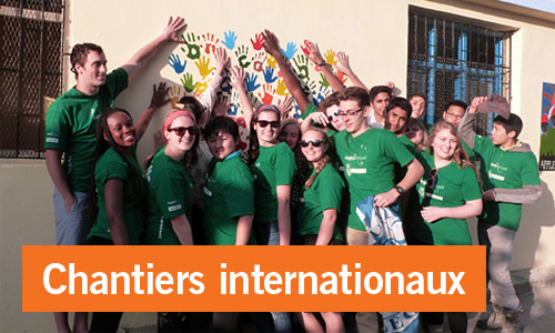 Chantiers internationaux 16-19 ans