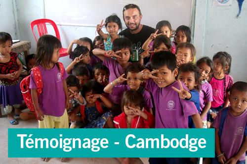 Témoignage d'une mission humanitaire au Cambodge