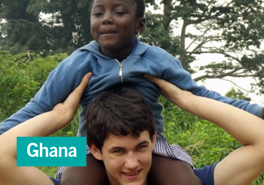Portrait de volontaire médecine Ghana