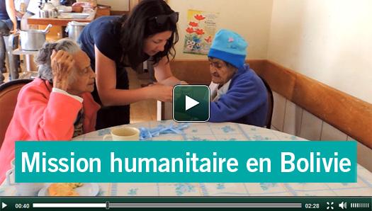 Nouvelle vidéo mission humanitaire en Bolivie