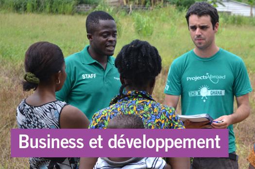 Zoom: Stages Business et développement