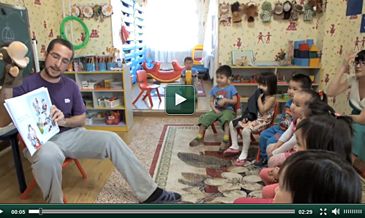 Nouvelle vidéo projet enseignement en Mongolie