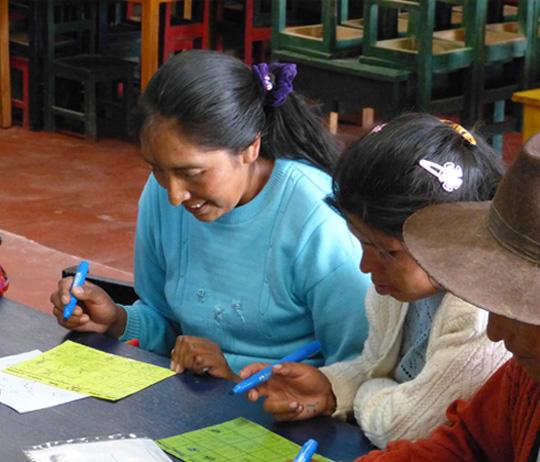 Enseignement au Pérou