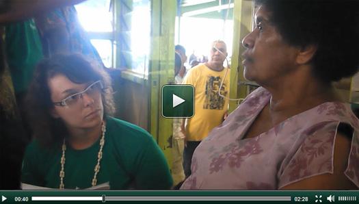 Nouvelle vidéo projet nutrition aux îles Fidji