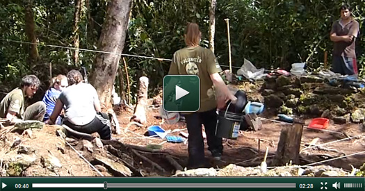 Nouvelle vidéo Pérou Archéologie