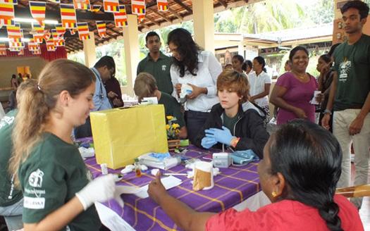 Nouveau chantier médecine au Sri Lanka