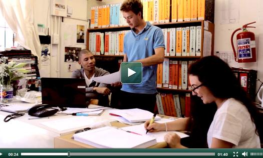 Nouvelle vidéo stage en ONG en Afrique du Sud