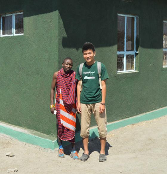 Une maison pour les enseignants en Tanzanie