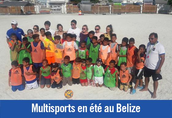 Multisports en été au Belize