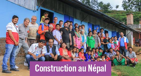 Reconstruction au Népal: vers un développement sur le long terme
