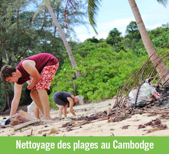 Écovolontariat au Cambodge: quand les déchets sont sources de revenus