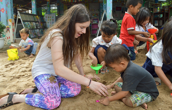 Une campagne de crowdfunding au Cambodge