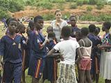 Projet de sport pour les femmes au Ghana