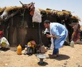Vie nomade au Maroc