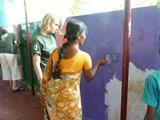 Construction en Inde