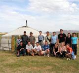 Séjour en Asie Centrale, dans une famille nomade
