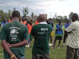 Encadrement sportif au Kenya