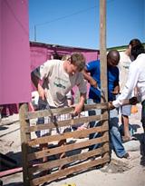 Missions de volontariat, Afrique du Sud