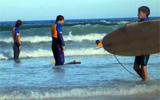 Projet Surf en Afrique du Sud
