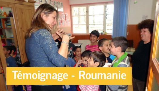 Témoignage d'une mission humanitaire en Roumanie