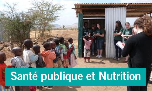 Zoom: stages en santé publique et nutrition
