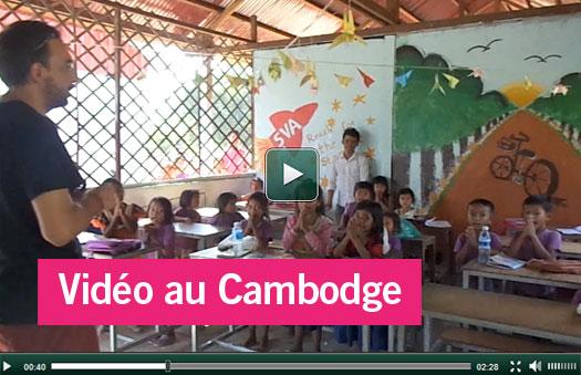 Nouvelle vidéo Cambodge