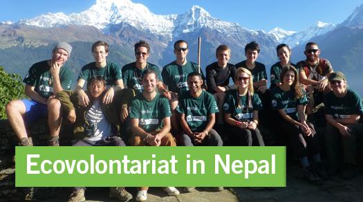 Rapport mensuel écovolontariat Népal