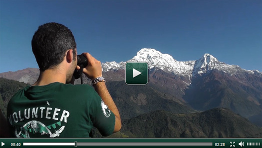 Nouvelle vidéo mission écovolontariat au Népal
