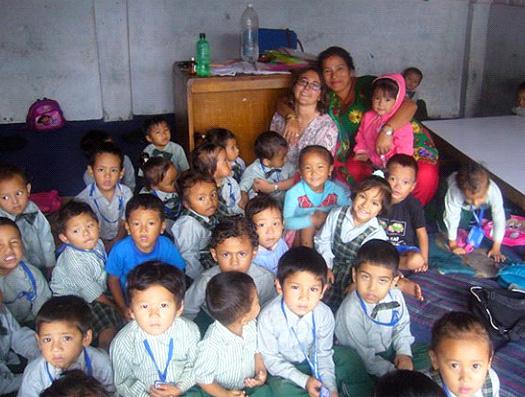 Nouveau témoignage Népal Sophie Guy