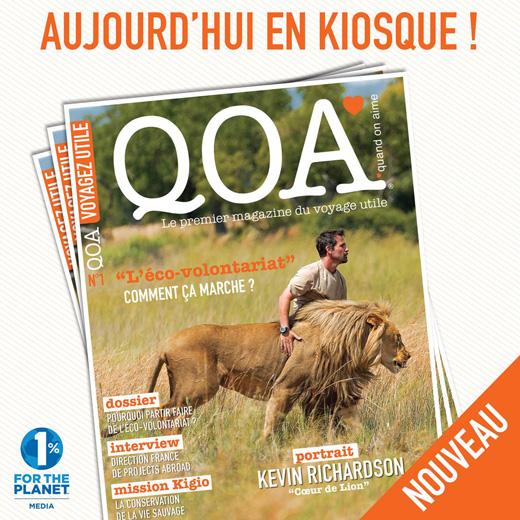 Lancement du magazine QOA