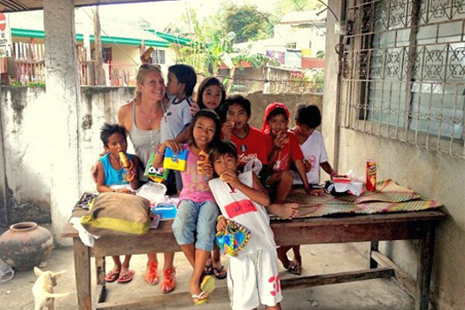 Témoignage humanitaire Philippines