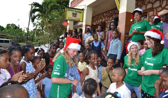 Les fêtes de fin d'année chez Projects Abroad