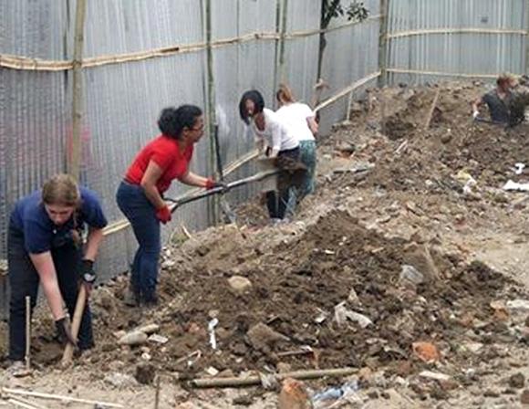 Reconstruction au Népal