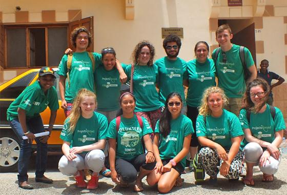 Nos jeunes volontaires en action sur les chantiers internationaux