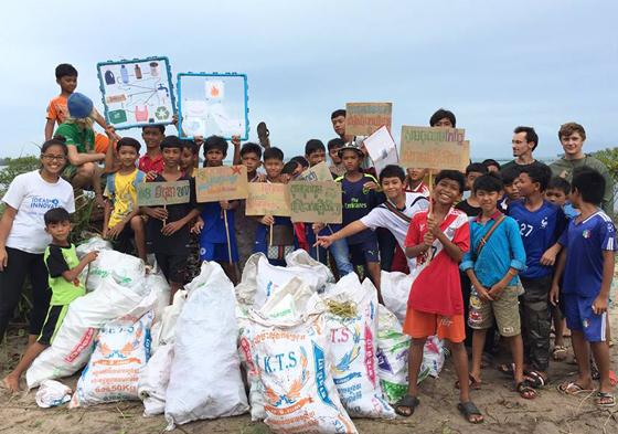 Journée mondiale des océans au Cambodge