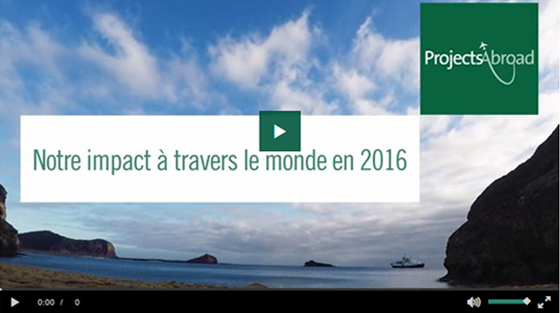 Vidéo: l'impact de nos volontaires en 2016