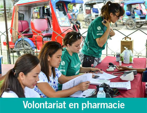 Lancement de missions et stages en pharmacie