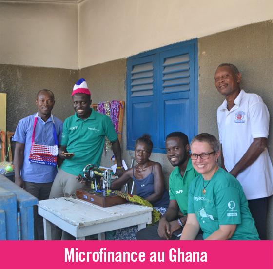 Projet de microfinance pour aider un camp de personnes atteintes de la lèpre au Ghana