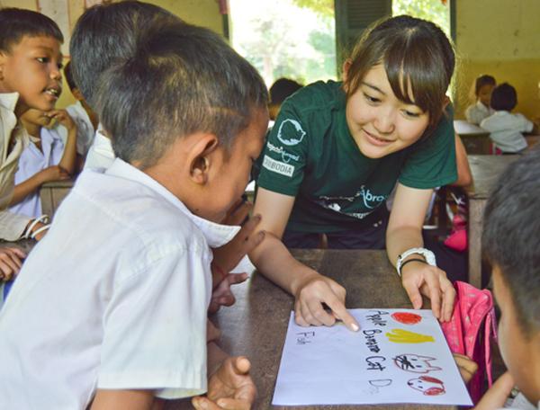 L'impact de nos jeunes volontaires en 2017